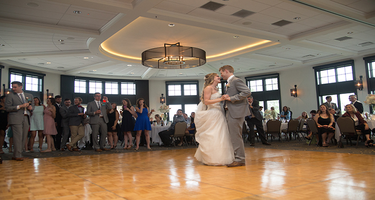 Dancing WaterMark Wedding