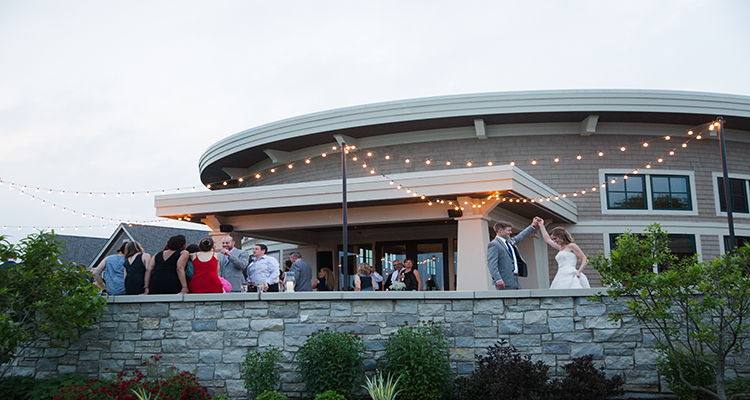 WaterMark Patio Wedding