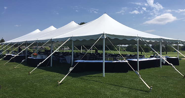 Wedding Tent WaterMark Country Club